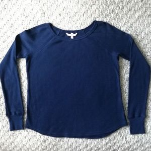 Victoria's Secret Navy Blue Light Thermal Top XS